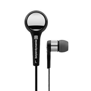 Beyerdynamic DTX 102 ie In Ear Headphones, Black/Silver