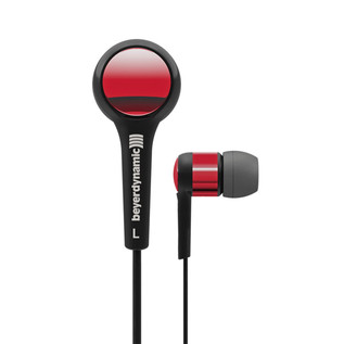 Beyerdynamic DTX 102 ie In Ear Headphones, Black/Red