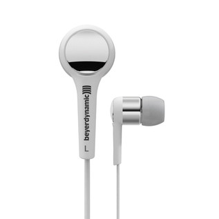 Beyerdynamic DTX 102 ie In Ear Headphones, White/Silver