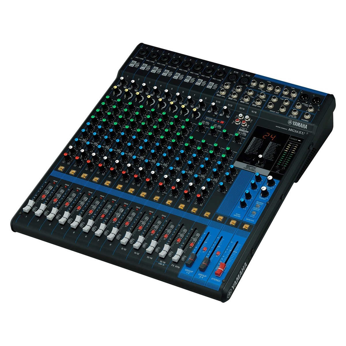 yamaha mg16xu analog usb mixer at