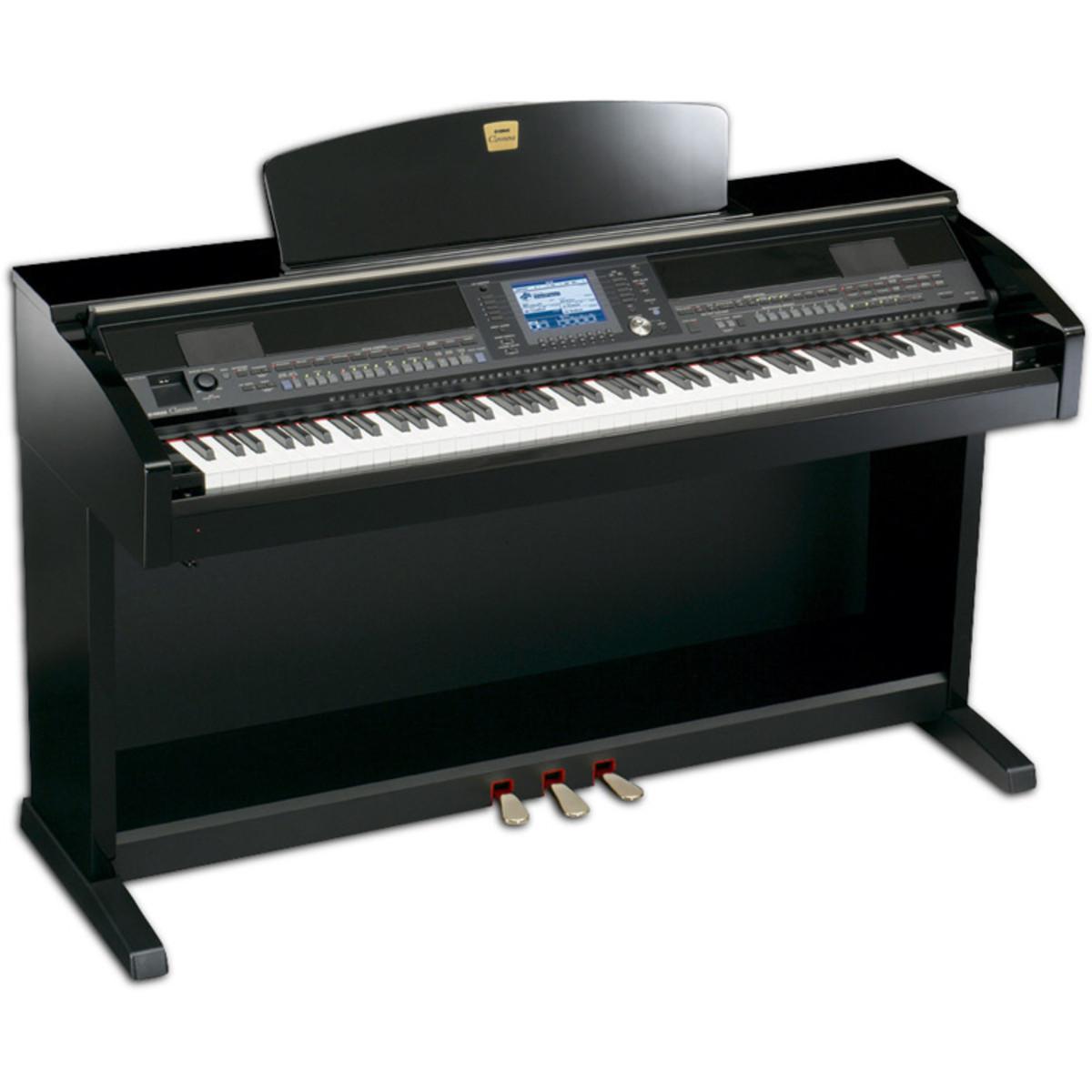 Yamaha clavinova cvp403 polished ebony at for Yamaha clavinova price