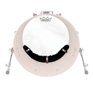 Remo 18 Inch Weckl Adjustable Muffling System for Bass Drum Head