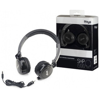 Stagg SHP-I500 Deluxe Headphones, Black