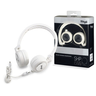 Stagg SHP-I500 Deluxe Headphones, White
