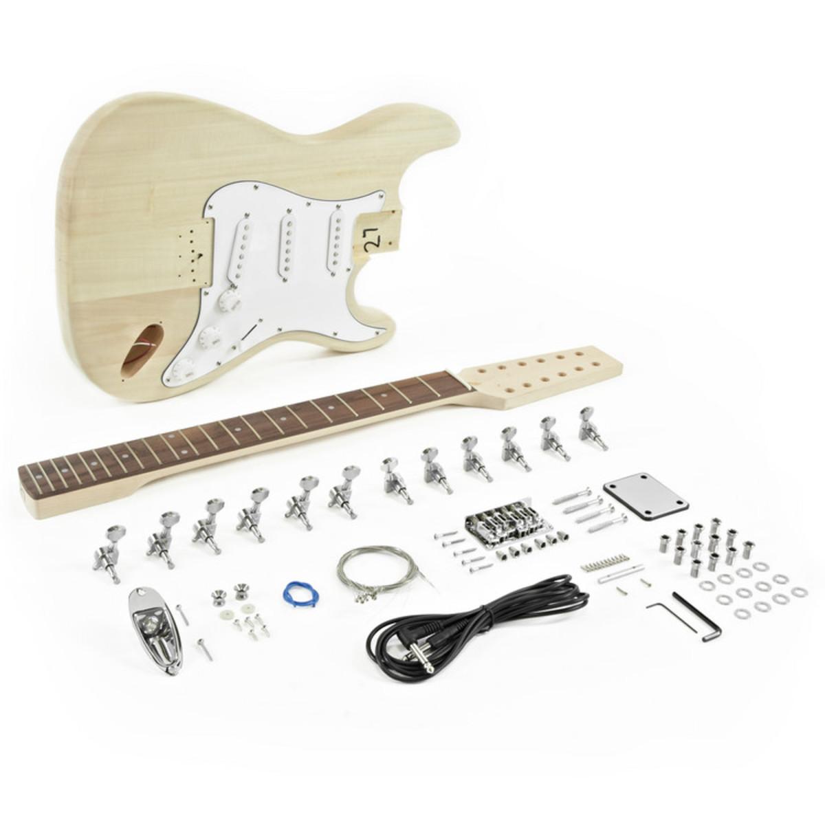 Image of 12 String LA Electric Guitar DIY Kit