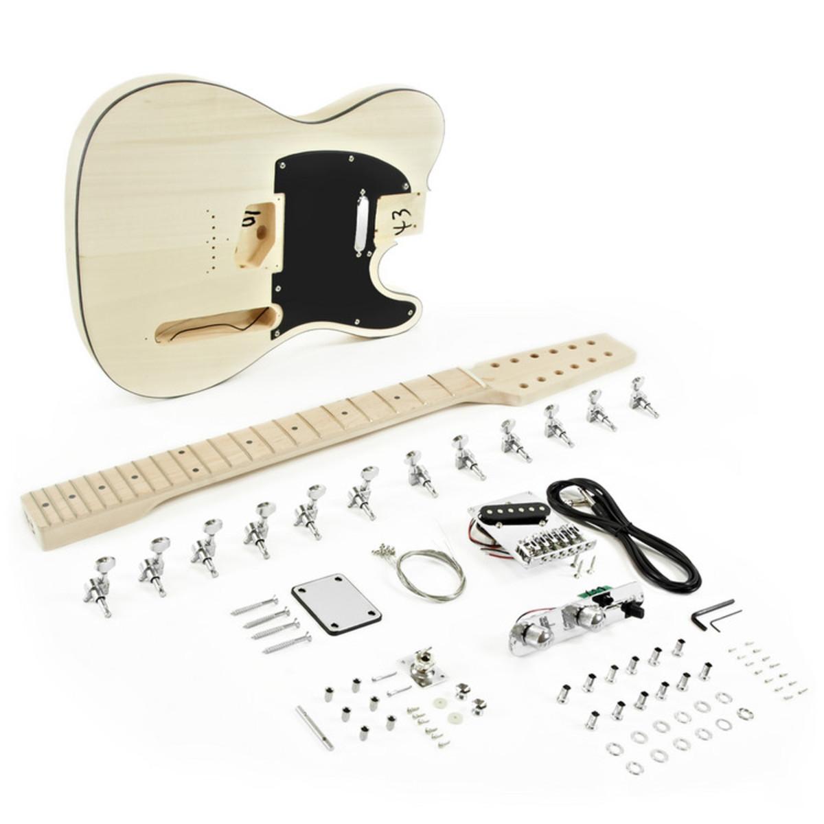 Image of 12 String Knoxville Electric Guitar DIY Kit