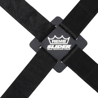 Remo Slider Dual Percussion, Adjustable Shoulder Strap 110 Inch