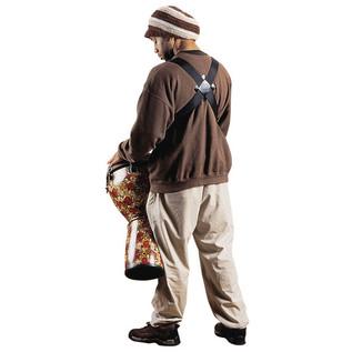 Remo Slider Dual Percussion, Adjustable Shoulder Strap 130 Inch