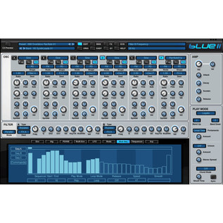 Rob Papen Blue II, Cross Fusion Virtual Synthesizer