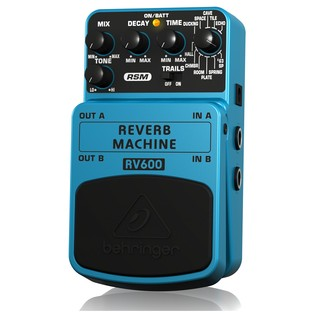 Behringer RV600 Reverb Machine Effects Pedal