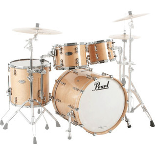 Pearl Masters Premium Legend 22'' Fusion Shell Pack, Matte Natural