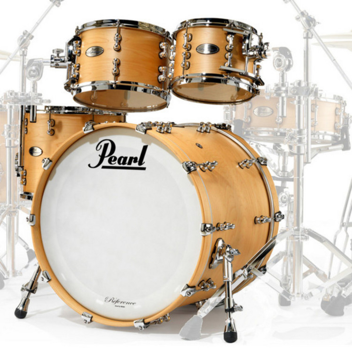 pearl reference pure 20 39 39 fusion shell pack matte natural at. Black Bedroom Furniture Sets. Home Design Ideas