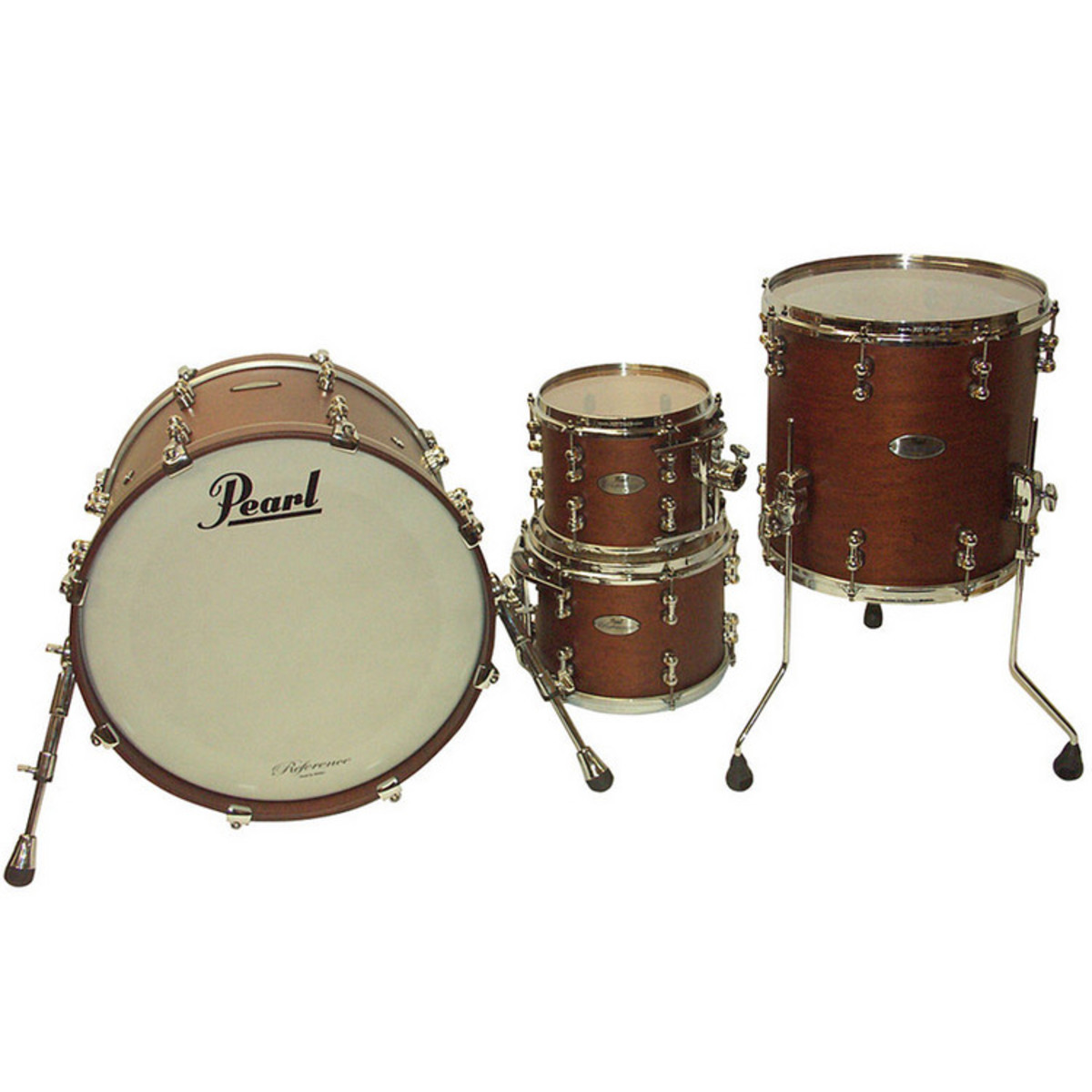 pearl reference pure 20 39 39 fusion shell pack matte walnut at. Black Bedroom Furniture Sets. Home Design Ideas