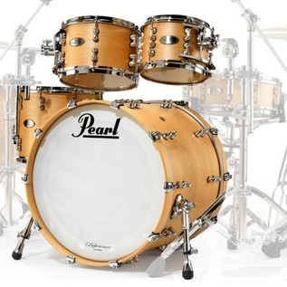 Pearl Reference Pure 22 In American Fusion Shell Pack, Matte Natural
