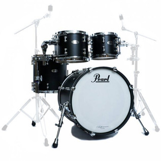 Pearl Reference Pure 22 In American Fusion Shell Pack, Matte Black