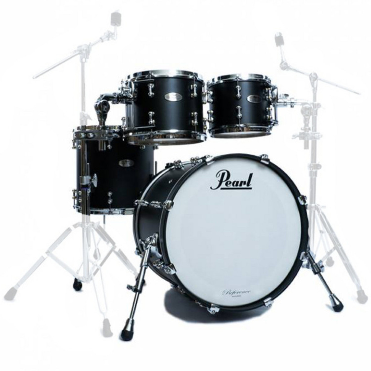 pearl reference pure 22 39 39 fusion shell pack matte black at. Black Bedroom Furniture Sets. Home Design Ideas