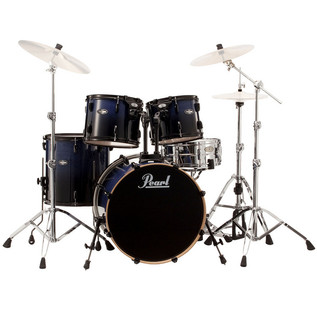 Pearl Vision Birch Lacquer VBL 20'' Fusion Drum Kit, Concord Fade