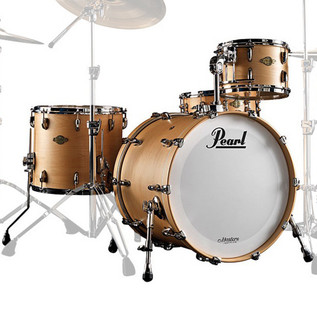 Pearl Masters Premium Maple 22'' Fusion Shell Pack, Natural Maple
