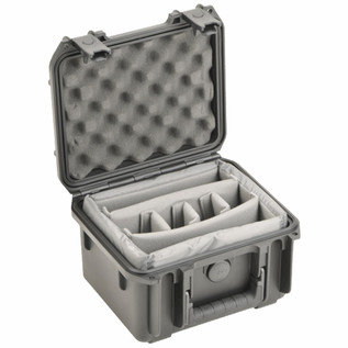 SKB Injection Molded Watertight Case, for 6 mics, 250x178x156 mm