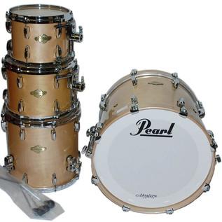 Pearl Masters Premium Maple 22'' Fusion Shell Pack, Platinum Mist