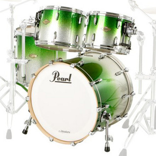 Pearl Masters Maple MCX 20'' Fusion Shell Pack, Lime Sparkle Fade
