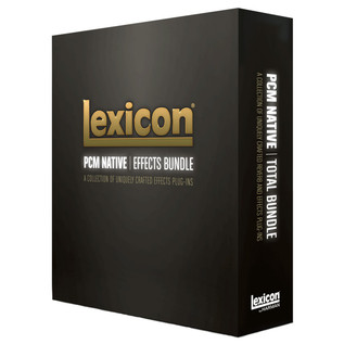 Lexicon PCM Native Effects Plug-In Bundle