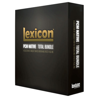 Lexicon PCM Total Plug-In Bundle, Upgrade