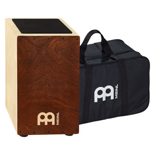 Meinl String Cajon Figured Mahogany, with Bag