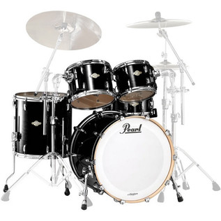 Pearl Masters Birch BCX American Fusion 22'' Shell Pack, Piano Black