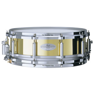 Pearl FB1450/C Free Floating 14'' x 5'' Snare, Brass