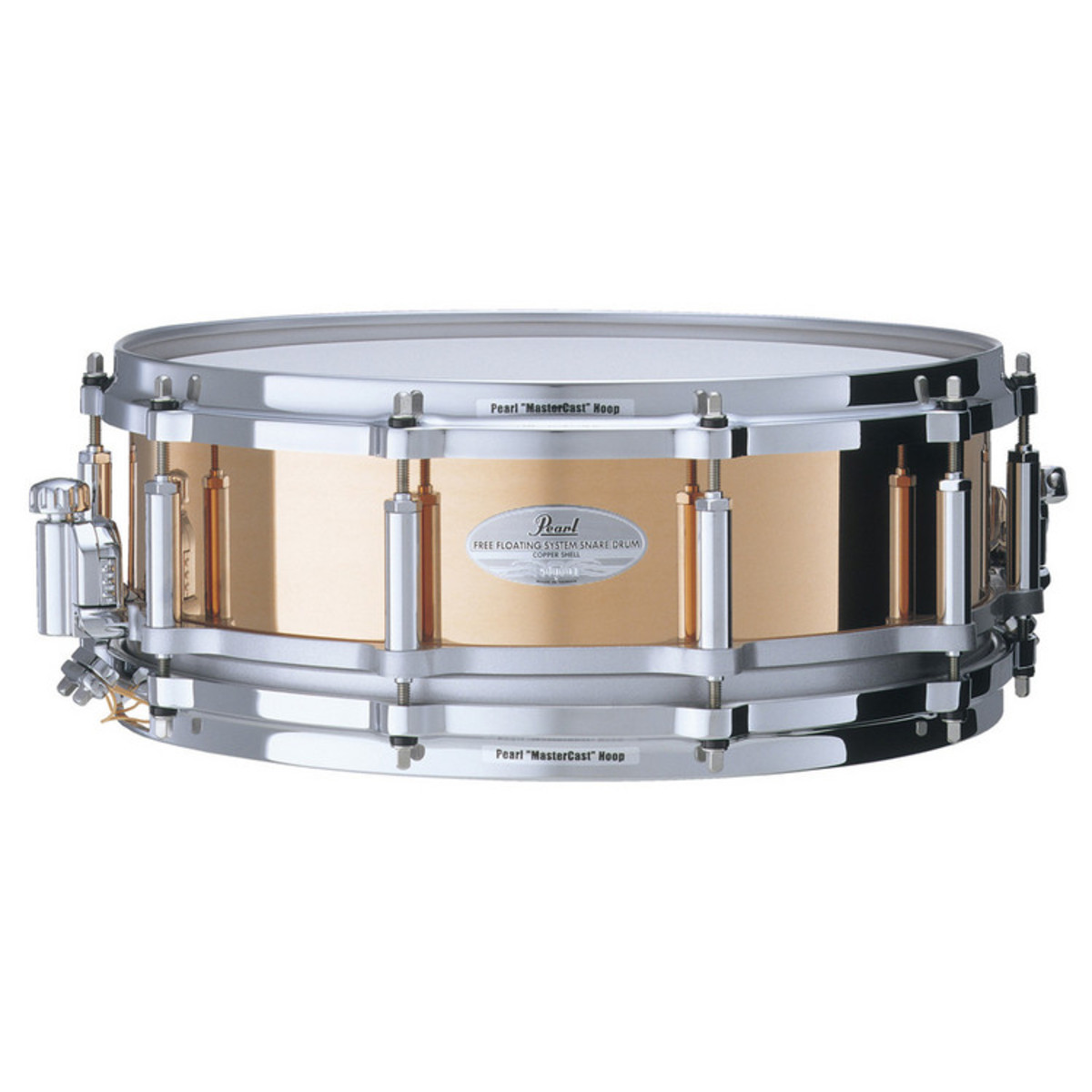 Pearl FC1450 Free Floating 14 x 5 Snare Drum Copper