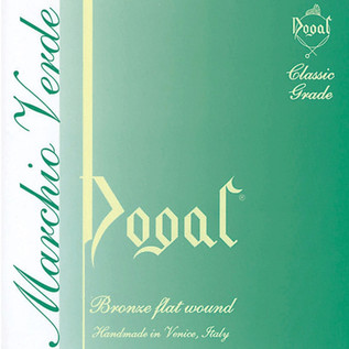 Dogal Green Label Violin E String, (4/4-3/4)