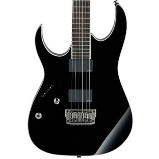 Ibanez RGIR20FEL Iron Label Left Handed Electric Guitar, Black
