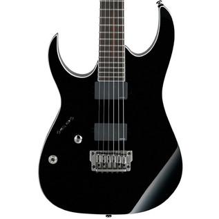 Ibanez RGIR20FEL Iron Label Left Handed Electric Guitar, Black