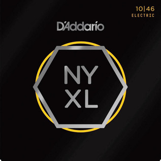 D'Addario NYXL Electric Guitar Strings, 10-46