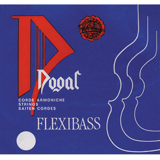 Dogal Flexibass Double Bass D String, 3/4