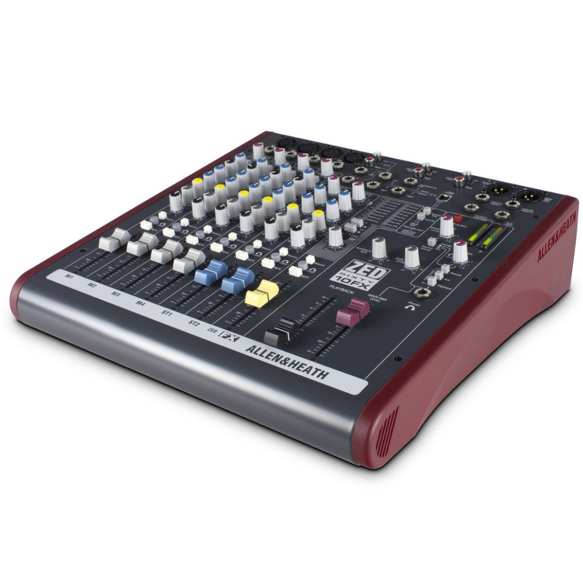 allen and heath zed60 10fx analog mixer with usb at. Black Bedroom Furniture Sets. Home Design Ideas