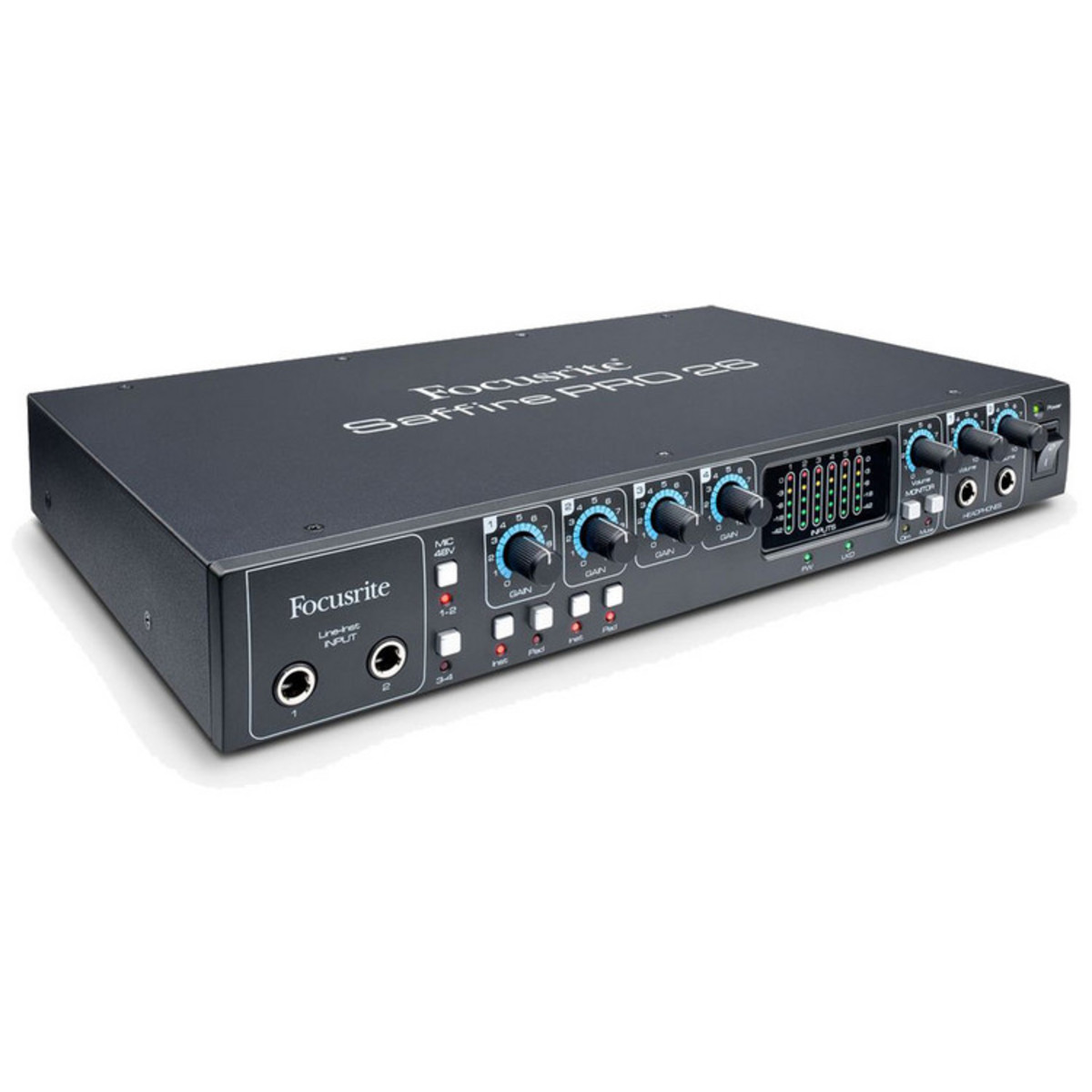 Image of Focusrite Saffire Pro 26 Firewire and Thunderbolt Audio Interface