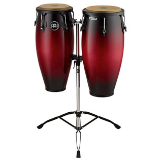 Meinl Headliner Series 10'' and 11'' Conga Set, Wine Red Burst