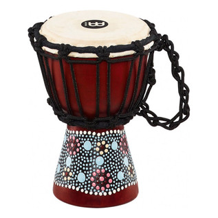 Meinl 4.5 Inch Mini Djembe, Flower
