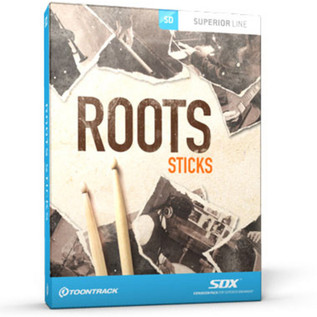 Toontrack SDX: Roots - Sticks