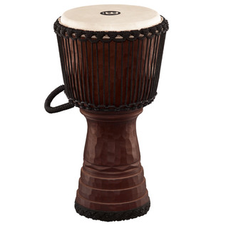 Meinl Tongo Carved 12 inch Djembe, Brown