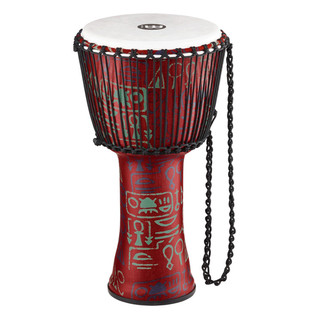 Meinl Travel Series 8 Inch Djembe Synthetic Head, Pharaoh's Script
