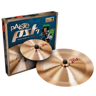 Paiste PST 7 10/18 Effects Cymbal Pack