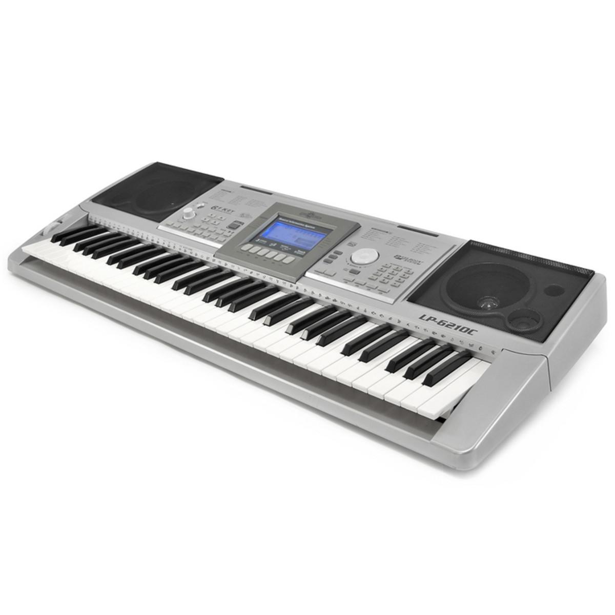 lp 6210c 61 touches clavier lectronique de gear4music comme neuf. Black Bedroom Furniture Sets. Home Design Ideas