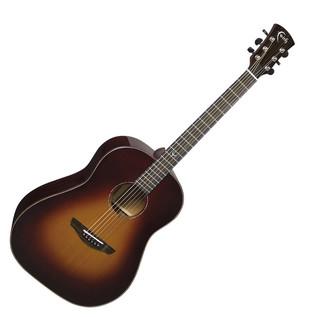 Faith Mars Drop Shoulder Cedar Top Acoustic Guitar, Classic Burst