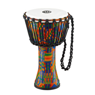 Meinl Travel Series 8 Inch Djembe Synthetic Head, Kenyan Quilt