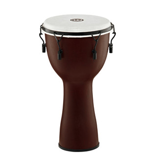 Meinl Journey Series Mechanical Tuned 12'' Djembe Synthetic, Brown