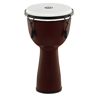 Meinl Journey Series Mechanical Tuned 10'' Djembe Synthetic, Brown