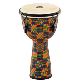 Meinl Journey Series Mechanical Tuned 10'' Djembe Goat Head, Quilt